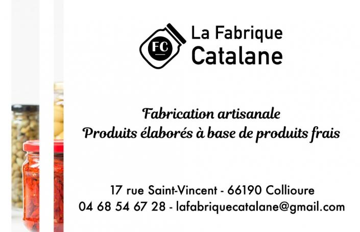 Fabrique Catalane Carte visite verso