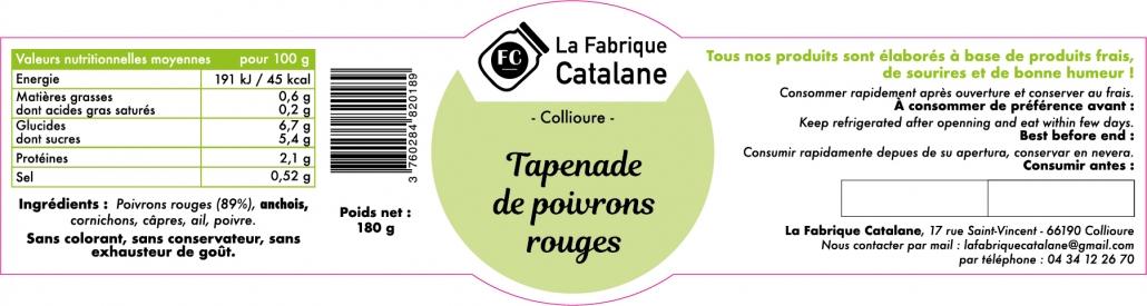 Fabrique Catalane Etiquette 1e-version