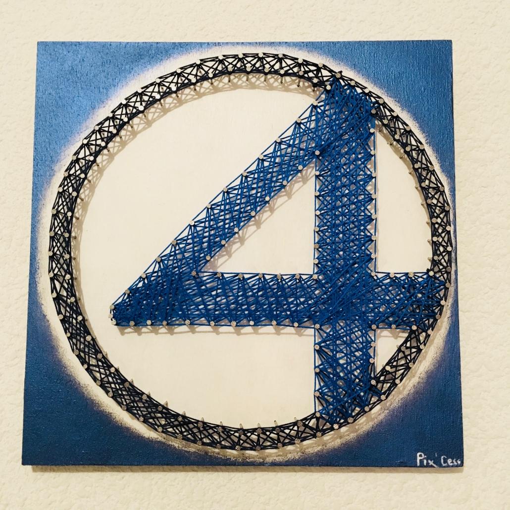 Tableau-string-art-4-fantastiques
