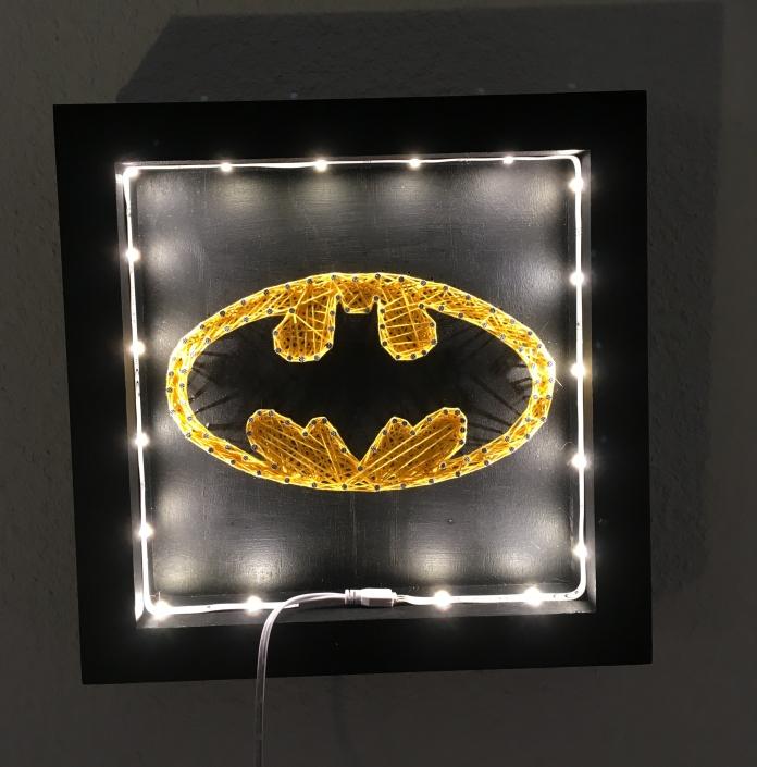 Tableau-string-art-batman
