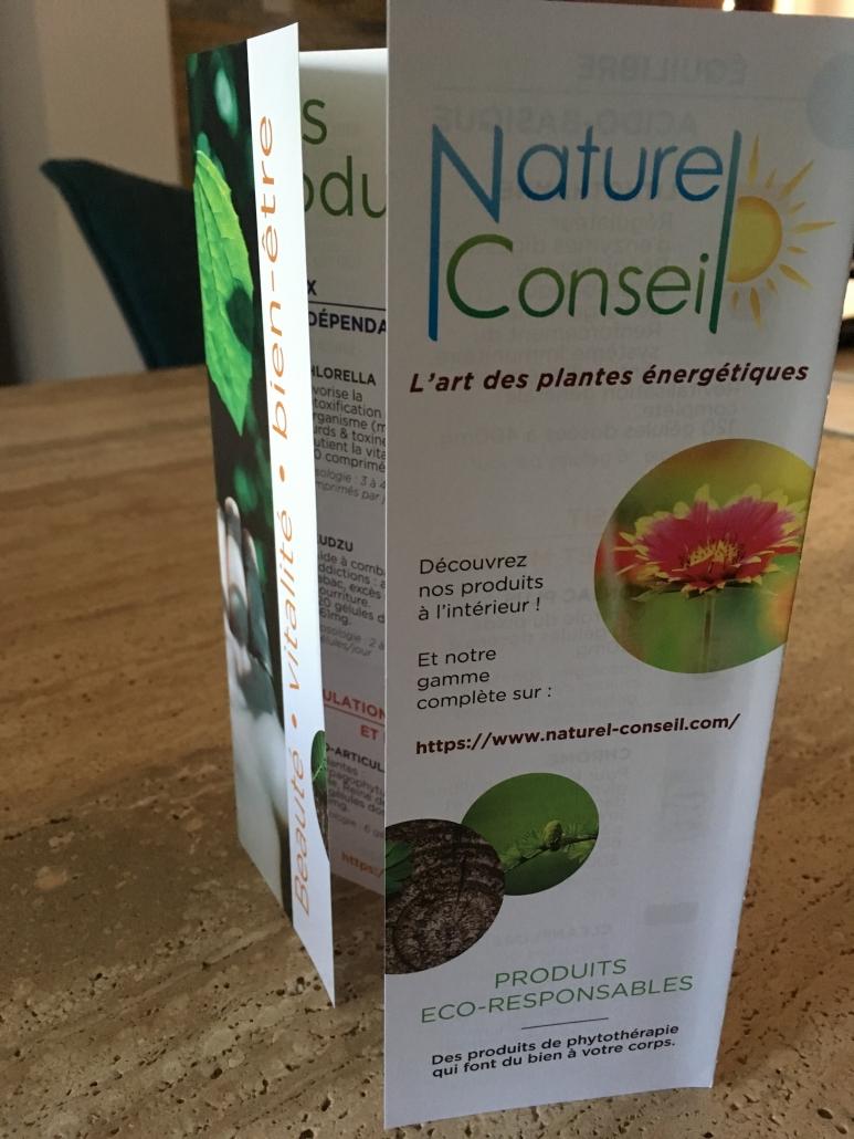 Flyer Naturel conseil ouvert
