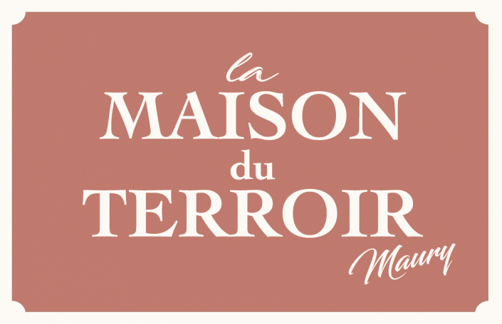 Cécile Thore Carte visite Maury recto